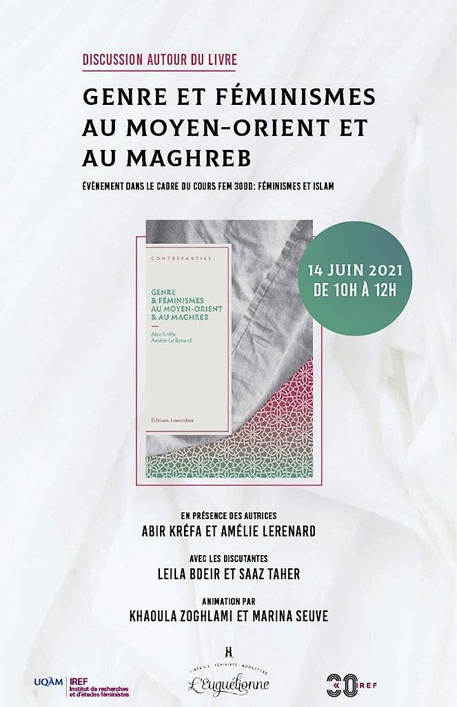 Image pour Discussion sur l'ouvrage: Genre et Féminismes au Moyen-Orient et au Maghreb