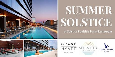 Summer Solstice Celebration at Solstice Poolside Bar tickets