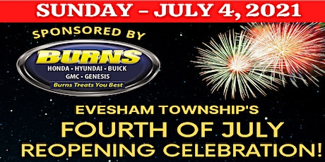 Evesham Township Fourth of July Fireworks tickets