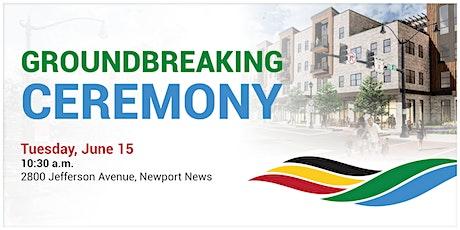Choice Neighborhoods Initiative - Apartment Groundbreaking Ceremony tickets