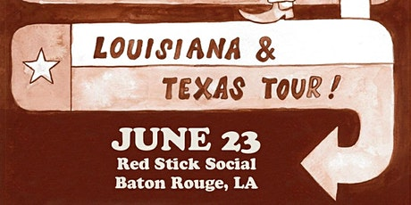 Riley Downing, Sam Doores & The Pink Stones at Red Stick Social! tickets