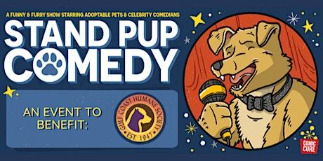 Stand Pup Comedy Night Benefitting Gulf Coast Humane Society tickets