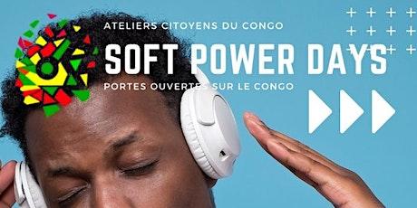 Soft Power Days - Congo-Brazzaville (Jour 2) billets