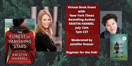 NYT Bestselling Author Kristin Harmel & THE FOREST OF VANISHING STARS tickets