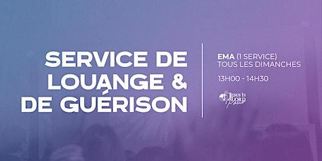 Service de Louange & de Guérison billets
