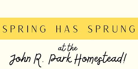 Virtual Pioneer Spring Education Program for Homeschoolers tickets