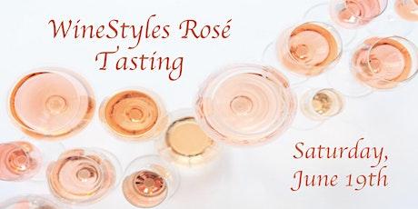 WineStyles Rosé Tasting tickets