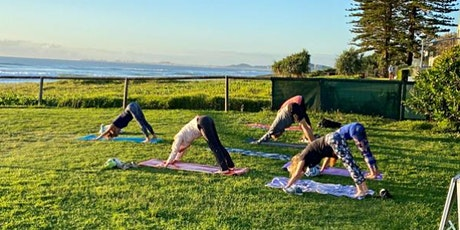 Tuesday 6am Yoga and Mindfulness at Park opposite Cafe on Hedges, Mermaid B tickets