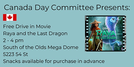 Canada Day Drive in Movie: Raya and the Last Dragon tickets