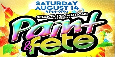 PAINT AND FETE tickets