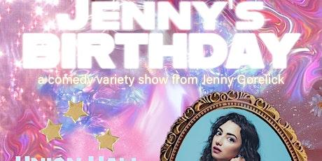 Jenny's Birthday Variety Show tickets
