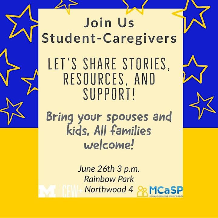 Student Caregiver Gathering led by MCASP image