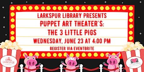 Puppet Art Theater's The Three Little Pigs tickets