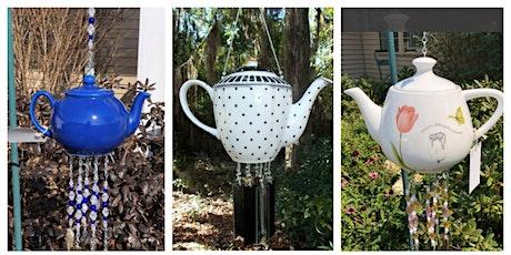 Ceramic Teapot Beaded Garden Glass Windchimes tickets