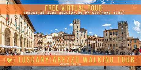 TUSCANY: Arezzo Virtual  Walking Tour - Discover a hidden gem tickets