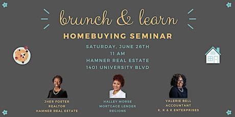 Brunch & Learn Homebuying Seminar tickets
