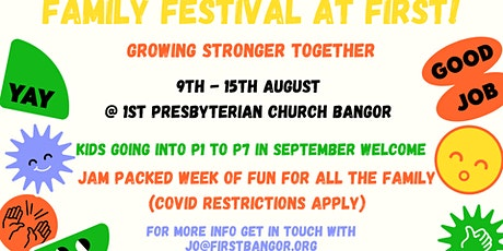 Family Festival at First tickets