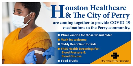 Houston Healthcare & The City of Perry COVID-19 Vaccine Event tickets