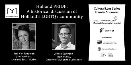 Holland PRIDE: A historical discussion of Holland's LGBTQ+ community tickets