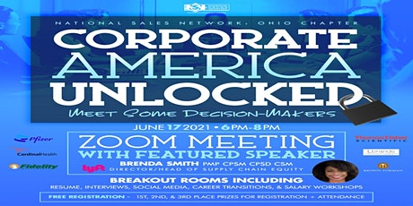 Copy of Corporate America Unlocked: Meet Some Decision Makers tickets