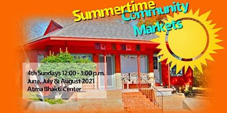 Summertime Community Market tickets