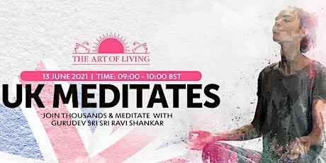 UK Meditates with Gurudev Sri Sri Ravi Shankar tickets