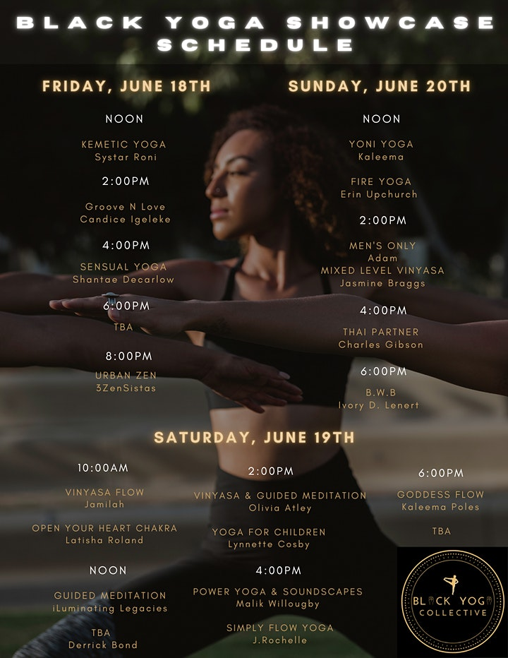 2nd Annual Black Yoga Showcase image