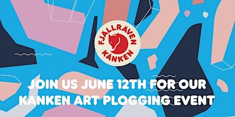 Fjällräven STP Spring/Summer 2021 Kanken Art Plogging Event tickets