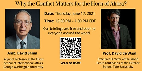 Ethiopia and Tigray: Why the Conflict Matters for the Horn of Africa? tickets
