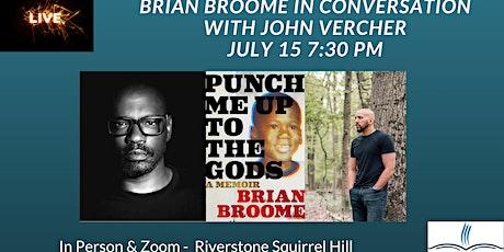 Brian Broome in Conversation with John Vercher at Riverstone Squirrel Hill tickets