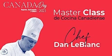 Master Class Online Cocina Canadiense entradas