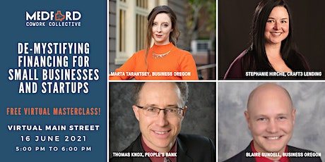 Demystifying Financing for Small Business and Start ups tickets