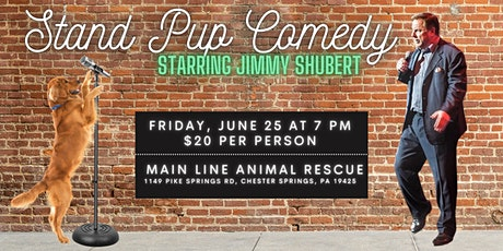 Stand Pup Comedy with Jimmy Shubert tickets