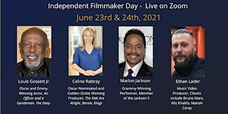Independent Filmmaker Day -Zoom- Lou Gossett Jr, Marlon Jackson, Pitchfest! tickets