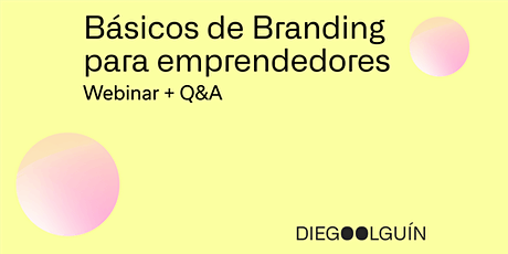 Básicos de Branding para emprendedores boletos