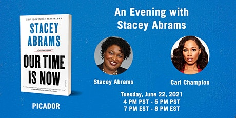 """Stacey Abrams, """"Our Time Is Now"""" with Cari Champion tickets"""