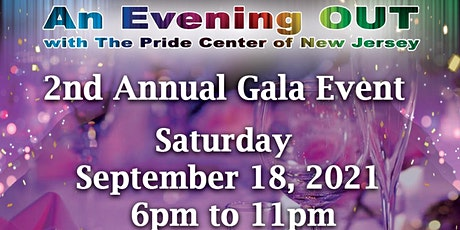 An Evening OUT II- A Benefit for The Pride Center of New Jersey tickets