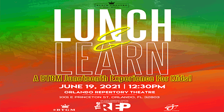 Lunch and Learn: A BTGM Juneteenth event for Kids and Families tickets