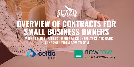 Overview of Contracts for Small Business Owners tickets