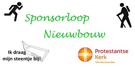 Nieuwbouw Sponsorloop 26 juni tickets