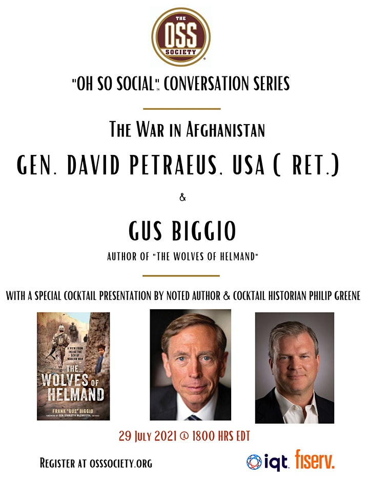"""""""Oh So Social"""" Conversation:  The Wolves of Helmand + War in Afghanistan image"""