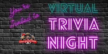 Virtual Trivia Night, June 22 tickets