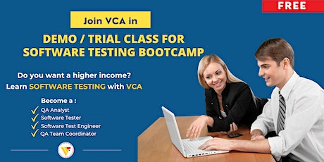 Demo / Trial Class for Software Testing Bootcamp tickets