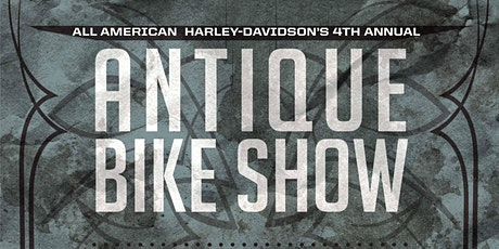 4th Annual Antique Bike Show Registration tickets