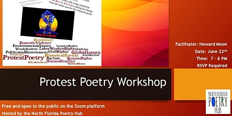 Protest Poetry Workshop - North Florida Poetry Hub tickets