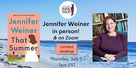 Jennifer Weiner at Titcomb's Bookshop tickets