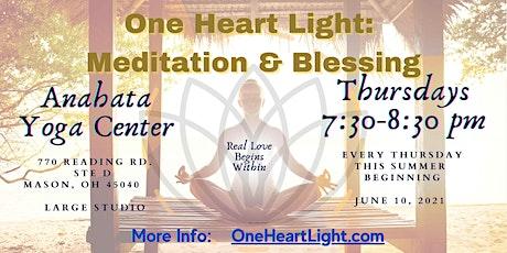 One Heart Light: Meditation & Blessing (@Anahata Yoga Center) tickets