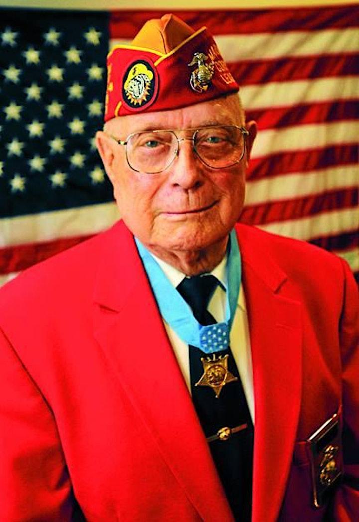 """Last Man Standing:  WWII Veteran Hershel """"Woody"""" Williams, Medal of Honor image"""