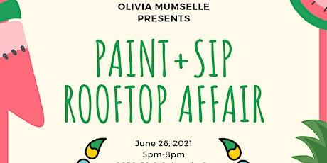 Paint+Sip Rooftop Affair tickets