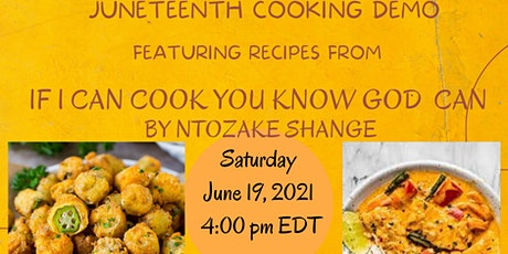Juneteenth Cooking Demo (LIVE) tickets